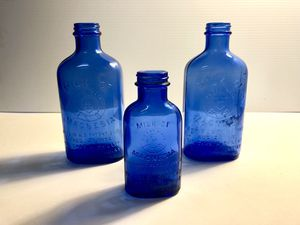 Antique Glass | Milk of Magnesia Bottles for Sale in Revere, MA