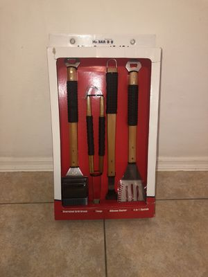 Mr BarBQ 4 pcs Tool Set for Sale in Costa Mesa, CA