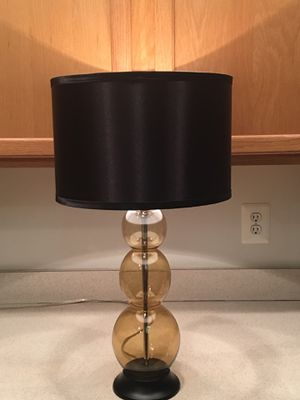 Modern table lamp for Sale in Leesburg, VA
