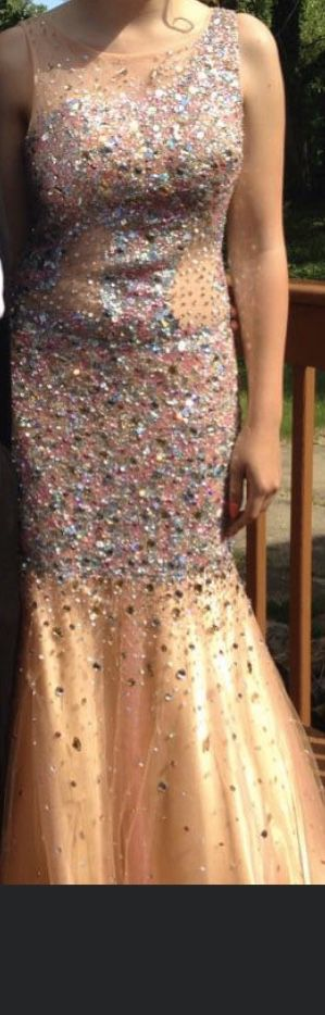 Peach/Rose Gold/Pink Sparkle Prom Dress for Sale in Takoma Park, MD