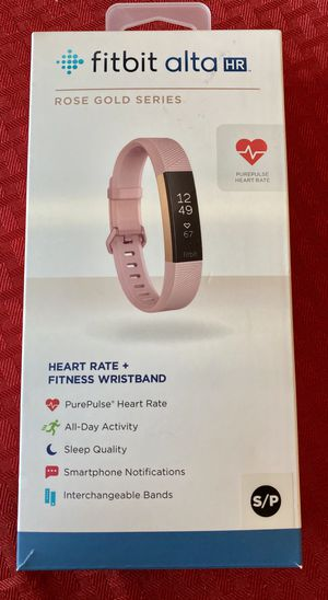 Fitbit Alta HR rose gold series small for Sale in Las Vegas, NV
