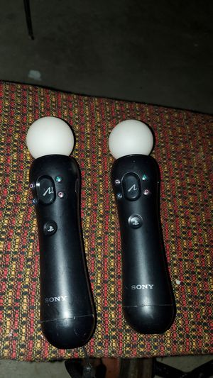 Ps3/Ps4 move controllers for Sale in Pico Rivera, CA