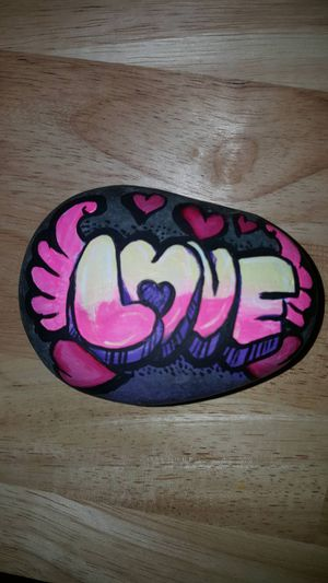 hand painted rock for Sale in West Palm Beach, FL