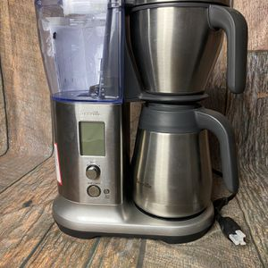 Breville - the Precision Brewer Thermal 12-Cup Coffee Maker - Brushed Stainless Steel . THIS IS A BESTBUY RETURN WITH NO BOX. IN WORKING CONDITION. RE for Sale in San Jacinto, CA