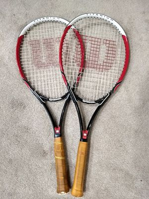 Wilson titanium tennis rackets for Sale in Chicago, IL