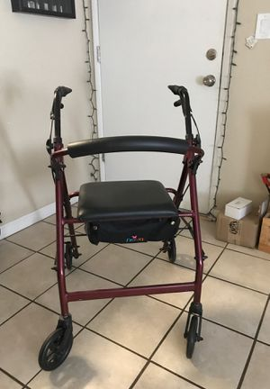 4 wheeled walker MAKE OFFER!!! for Sale in Chico, CA