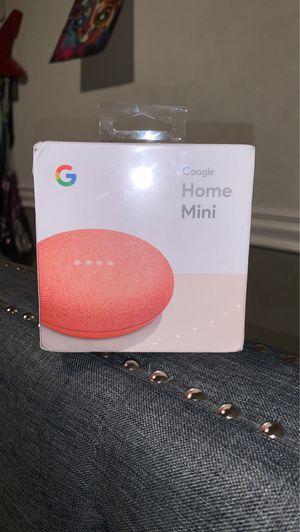 Google mini home (red) for Sale in Fontana, CA