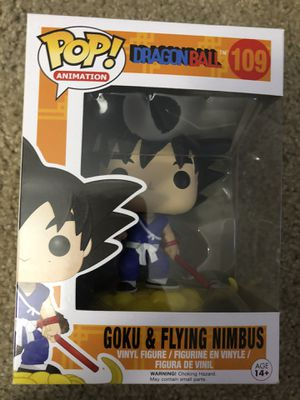 Funko Pop Goku & Flying Nimbus for Sale in Lake Forest, CA