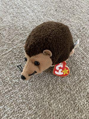 Prickles hedgehog RARE TY BEANIE BABY multiple errors for Sale in Clovis, CA
