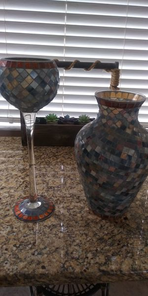 Vase & candle holder for Sale in NEW PRT RCHY, FL