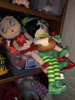 Betty Boop plush dolls $7 each for Sale in Phoenix, AZ