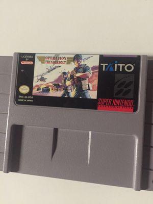 Operation ThunderBolt (Super Nintendo SNES) for Sale in Vallejo, CA