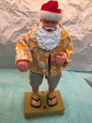 Dancing Santa in the beach outfit for Sale in Boca Raton, FL