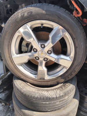 """Chevy Volt 17"""" inch polished chrome wheels rims for Sale in Los Angeles, CA"""