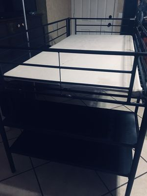 Twin bed frame (doesn't included mattress) for Sale in Phoenix, AZ