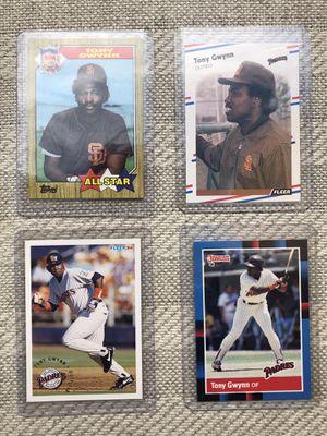 Tony Gwynn Baseball card lot for Sale in El Paso, TX