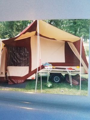 1989 Combicamper motorcycle trailer for Sale in Painesville, OH