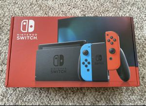 Nintendo Switch V2 Neon Red and Blue Joy-Con Console Brand New Sealed! for Sale in Dobbs Ferry, NY