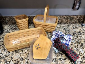 Longaberger Basket Collection for Sale in Delray Beach, FL
