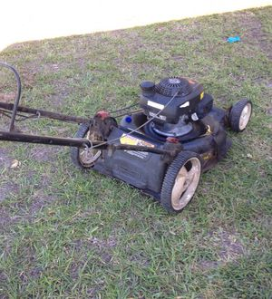 """Craftsman 21"""" lawn mower Brand new front propel transmission. New tires all round. Honda engine needs service. for Sale in Houston, TX"""