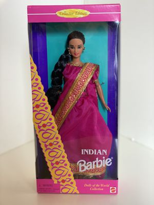 Indian Barbie 1995 - Dolls Of The World - Collector Edition for Sale in Plano, TX