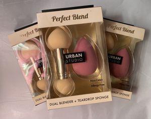 Urban Studio Dual Blender + Teardrop Sponge for Sale in Houston, TX