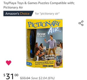 ToyPlaya Toys & Games Puzzles Compatible with; Pictionary Air for Sale in Clinton, MD
