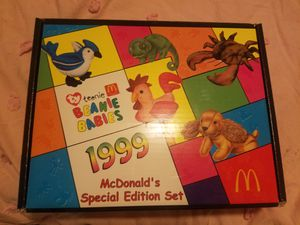 2 Teenie Beanie Babies (McDonalds special edition set 1999) for Sale in South El Monte, CA