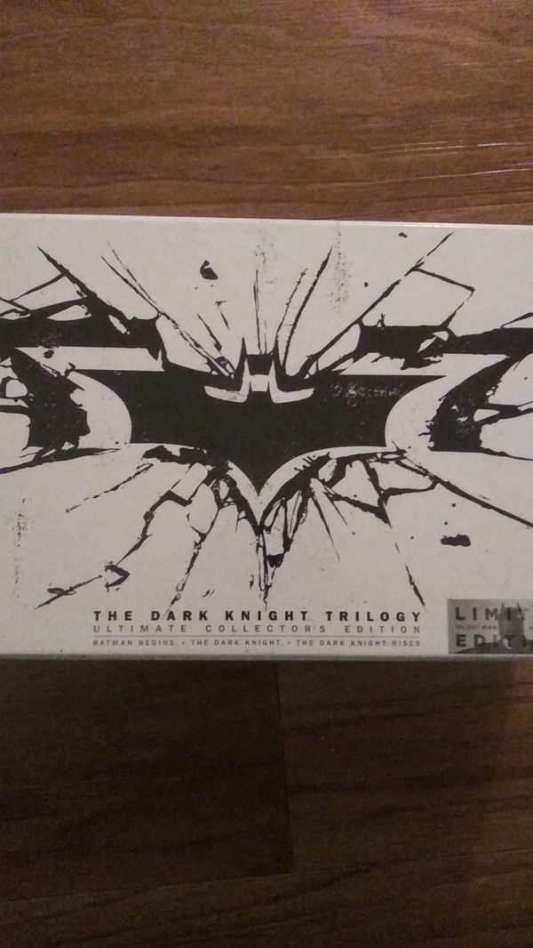 Limited Edition Dark Knight Trilogy Boxset