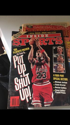 1991 Michael Jordan magazine $5 for Sale in Fontana, CA