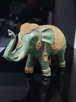 Solid brass elephant for Sale in Duluth, GA