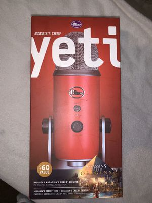 Blue Yeti Blue Yoti Spiderman Edition Professional USB Condenser Microphone - Satin Red for Sale in Conyers, GA