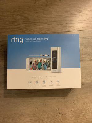 Ring Pro Video Doorbell for Sale in Bluffton, SC