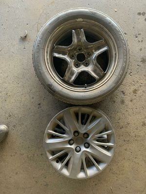 18 inch stock rims for Chevy impala for Sale in Fontana, CA