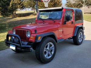 2002 Jeep Wrangler X - TJ for Sale in Blue Grass, IA
