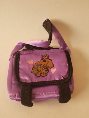 So cute!! Scooby Doo miniature backpack for dolls! 3 inches by 3 inches! for Sale in Plainville, CT
