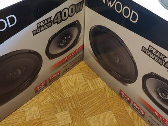 Car Speakers ; 2 Pairs KENWOOD 6×9 3 Way 400 Watts Car Speakers for Sale in Bell Gardens,  CA