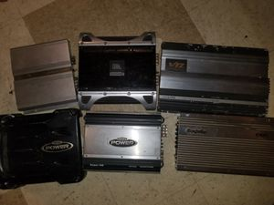 Car Audio Amplifiers $50 for Sale in WA, US