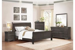 New 4pc king or California king bedroom set tax included free delivery for Sale in Hayward, CA
