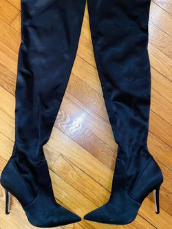 Thigh high heel boots for Sale in Medford,  MA