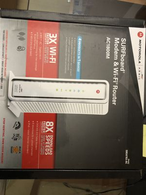 Modem and Wifi Router AC1800M Aris for Sale in Miami, FL