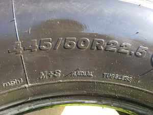 Truck tire 445/50R22.5 Bridgestone M835A for Sale in Pembroke Pines, FL