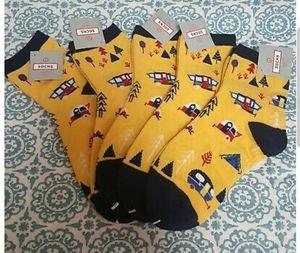 Kids 5 pk Socks Campers Print Size 9-11 for Sale in Orlando, FL