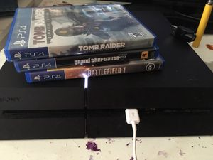 PS4 Slim 1 Tb comes with 3 games Black ops 4 and The Last Of Us remastered Digital for Sale in Franklin Park, IL