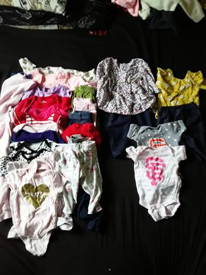 6-9 months baby girl clothes for Sale in San Jose, CA