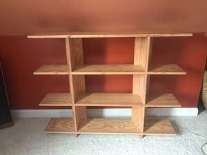 Solid Wood Bookcase/Shelf for Sale in Barrington, IL