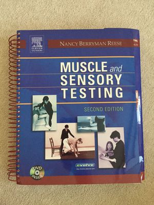 Muscle and sensory testing textbook for Sale in Sacramento, CA