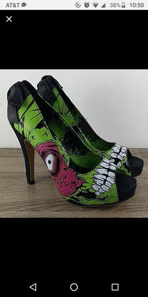 New Halloween zombie platform open toe heels for Sale in Bonney Lake, WA