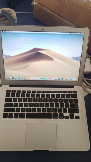 VERY FAST Macbook Air 13inch I7 251GB SSD + OFFICE 2016 + Charger + Latest OS for Sale in Hanover, MD