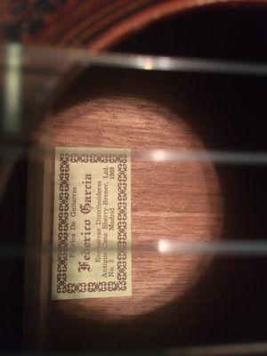 Great Starter Acoustic Guitar!!! Original Frederico Garcia guitar made back in Soain for Sale in Agoura Hills, CA